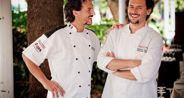 Chefs Nicola & Fabrizio Carro | Owners of Quattro Gastronomia Italiana
