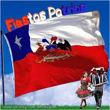 Resultado de imagen para bienvenido septiembre en chile