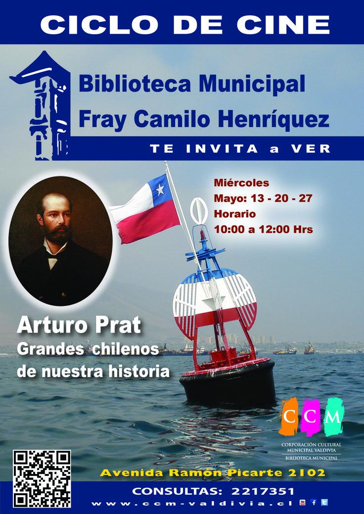 Mayo, Arturo Prat. Los colegios interesados deben coordinar sus visitas en el segundo piso de la Biblioteca Municipal o al fono 2217351, con el encargado Sandro Beltrán.