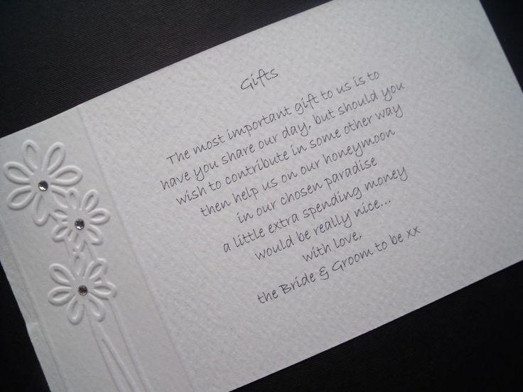 Wedding Gift List Poem: Best 25+ Wedding Gift Poem Ideas On Pinterest