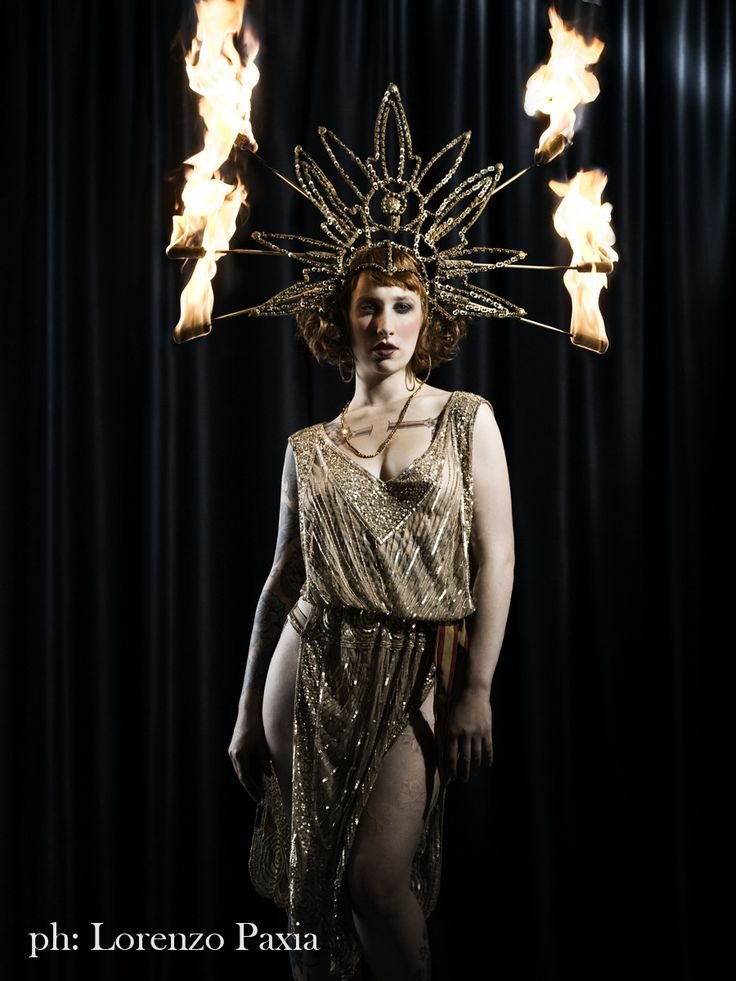 Haha..taking Flambeaux to a whole other place!  The Champagne Circus: Missy Macabre