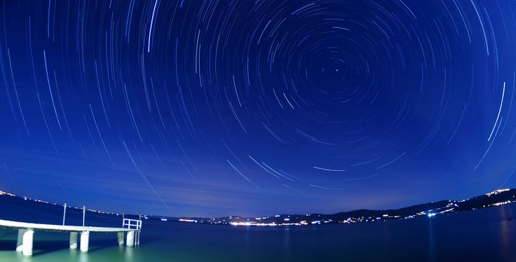 Startrails #fisheye #8mm #startrails #stellapolare