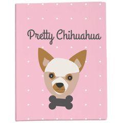 Protège-passeport ou carnet de santé pour votre chihuahua ! On l'adore !!