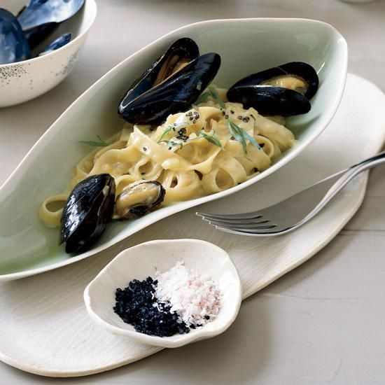 or chorizo and creating novel com mussels with saffron and citrus fast ...