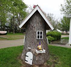 Schöne Gartendeko aus Holz – Ideen aus verschiedenen Holzelementen