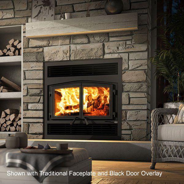 Osburn Stratford Ii Zero Clearance Wood Stove Fireplace Wood