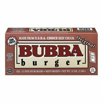 I'm learning all about Bubba Burger Beef Patties 32 oz at @Influenster!