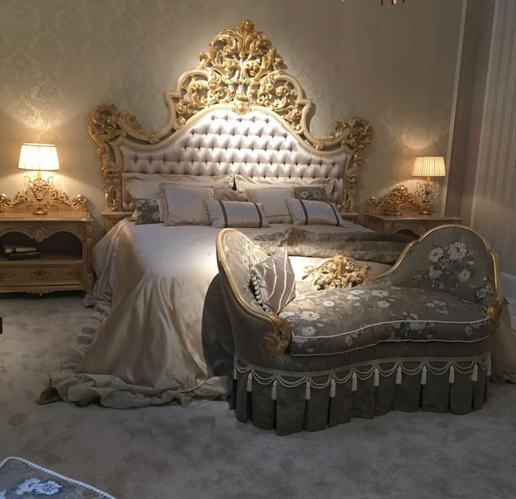 Old Hollywood Bedroom