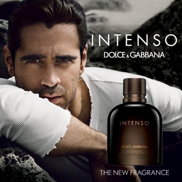 Parfum du Jour - Intenso de Dolce&Gabbana Dolce & Gabbana dévoile son nouveau parfum : Intenso. Pour présenter sa dernière création au public, la marque collabore avec Colin Farrell.  Une fragrance boisée aromatique.  Eau de Parfum 75ml : 170dt  #Fatales #ParfumduJour #Dolce_Gabbana #Intenso