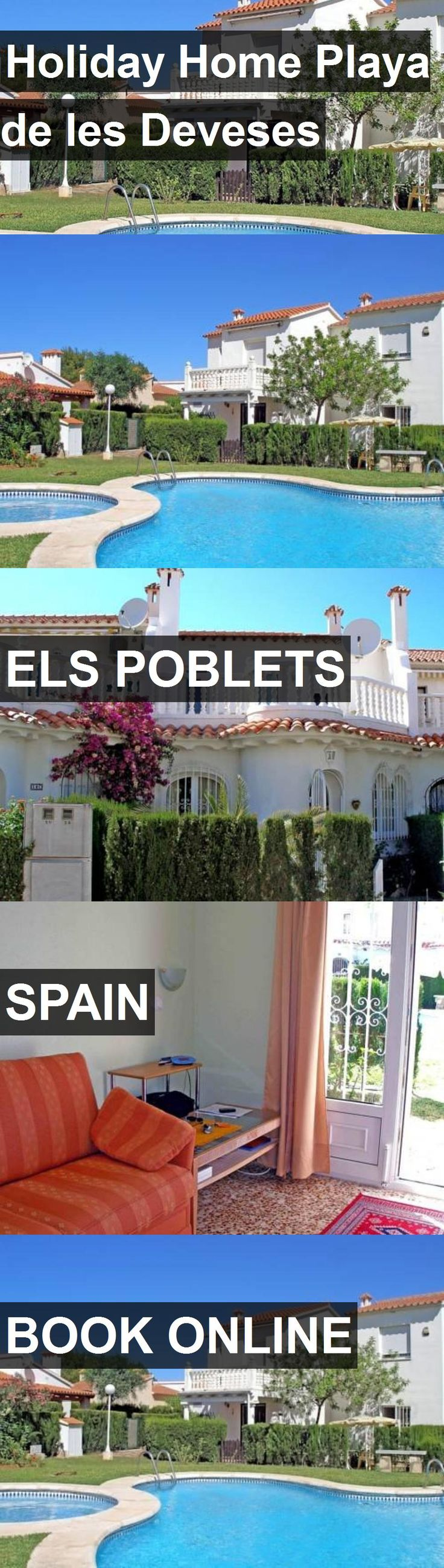 Hotel Holiday Home Playa de les Deveses in Els Poblets, Spain. For more information, photos, reviews and best prices please follow the link. #Spain #ElsPoblets #HolidayHomePlayadelesDeveses #hotel #travel #vacation