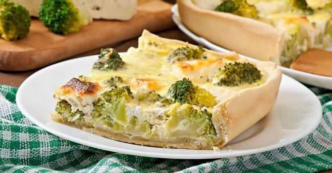 Recette de Quiche minceur brocoli-mascarpone. Facile et rapide à réaliser, goûteuse et diététique. Ingrédients, préparation et recettes associées.