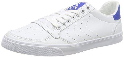 hummel SLIMMER STADIL ACE, Unisex-Erwachsene Sneakers, Weiß (White/Turkish Sea 9795), 40 EU - http://on-line-kaufen.de/hummel-2/40-eu-hummel-slimmer-stadil-ace-unisex-erwachsene-4