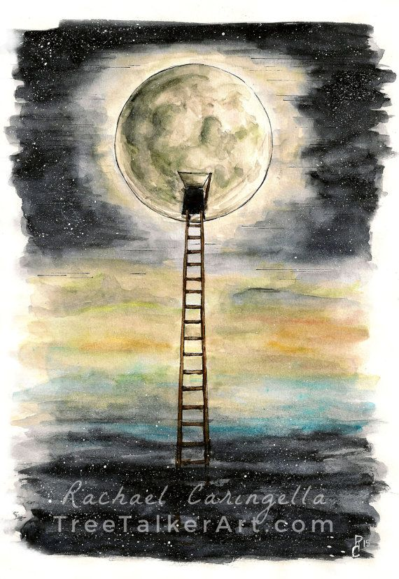 Ladder To The Moon Third Demension