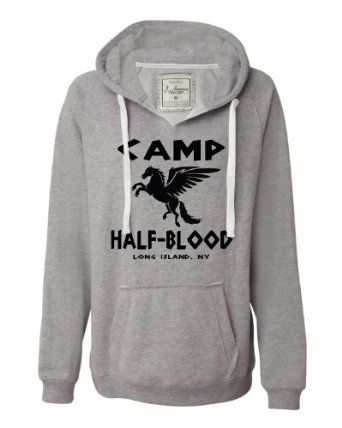 Oxford Womens Camp Half-Blood Deluxe Soft Hoodie [Percy Jackson]