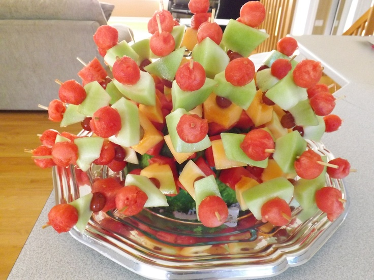 A master piece of Fruits made by my family members!