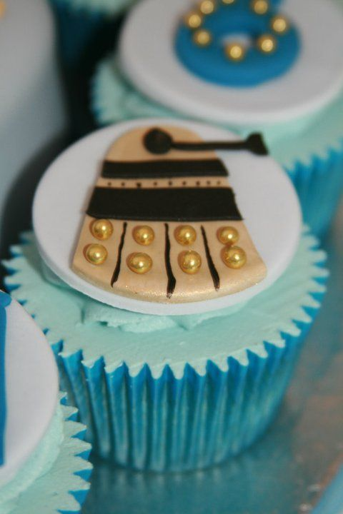 Doctor Who Cupcakes on Pinterest  Doctor who party, Doctor who cakes ...