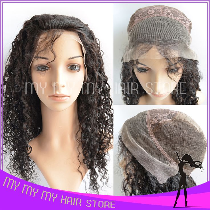 Glueless Lace Front Human Hair Wigs 130 Density Kinky Curly Wigs Perruques Cheveux Bresilienne Best Human Hair Wigs FreeShipping