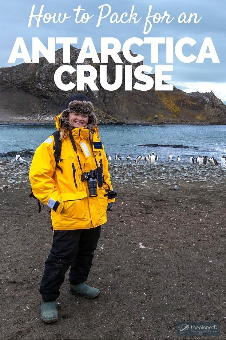How to Pack for an Antarctica Cruise | When going on an Antarctica Cruise, one would think that you need to pack a ton of travel gear and clothing. However, you may find that when you pack for an Antarctica Cruise, you can bring far less than you'd expect | The Planet D: Canada's Adventure Travel Couple