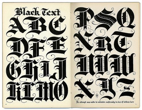 1000+ Ideas About Old English Font On Pinterest