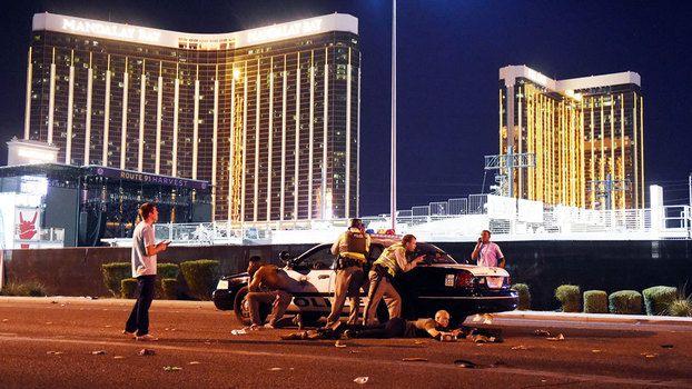 Policiais mataram suspeito, que atirou do 32º andar do hotel Mandalay Bay