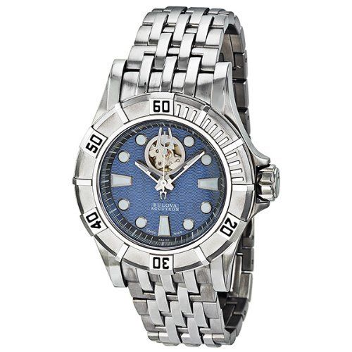 Accutron Kirkwood Men's Stainless Steel Case Automatic Watch 63A112 Accutron. $396.99. luminous. second-hand. Water Resistant up to 100 m. Save 71%!