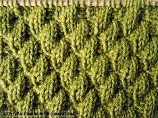 How To Knit-Purl Diagonal Stitch