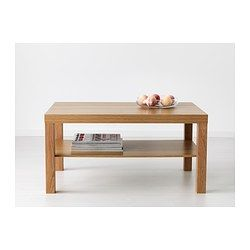LACK Coffee table, oak effect - 90x55 cm - IKEA