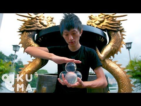 Contact Juggling - His Skills are Totally Hypnotizing - YouTube
