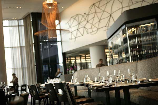 Inside Gordon Ramsey's Maze Restaurant Melbourne.