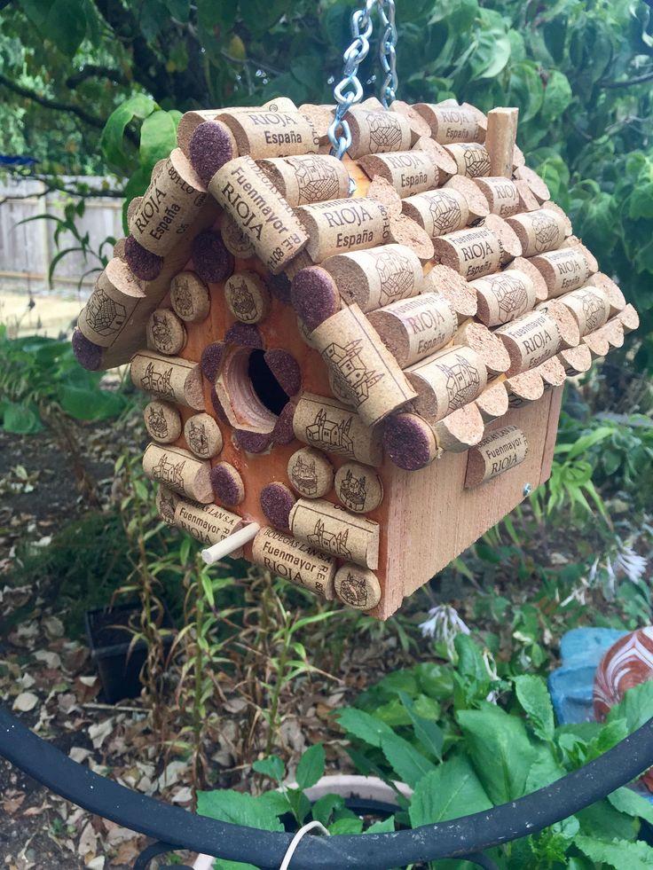 Rjoja Winery  Wine cork birdhouse