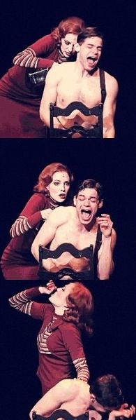 Favorite part of Bonnie and Clyde the musical...Jeremy's acting is so believable and so amazing. Love it!