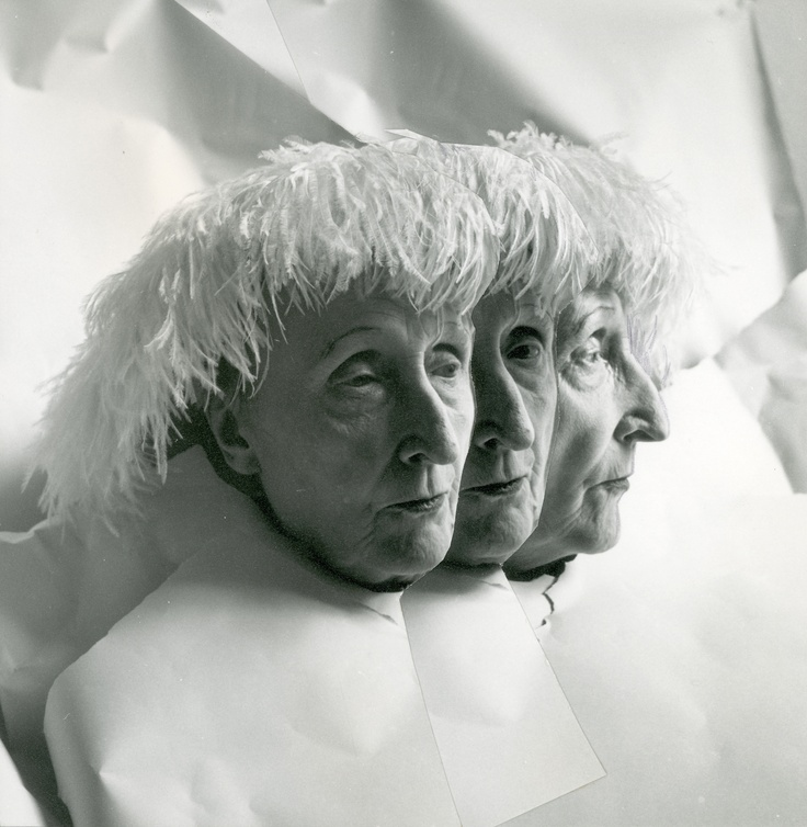 Edith Sitwell (multiple exposure, Cecil Beaton, 1962)