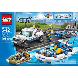 LEGO City Police Patrol Building Set