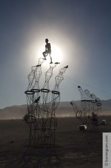 Burning Man 2006 - Cat's Cradle © 1998-2007 NK Guy