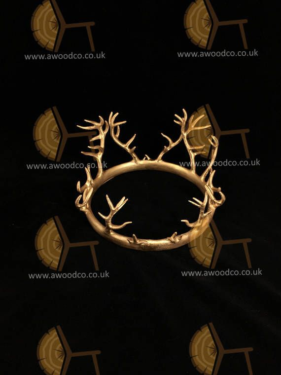Renly Baratheon Game of Thrones crown  1:1 scale Cosplay - 3D Printed by AuroraWoodworkingCo on Etsy https://www.etsy.com/uk/listing/567517096/renly-baratheon-game-of-thrones-crown-11