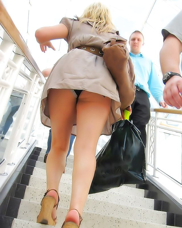 Made love Real street upskirt what JUICY