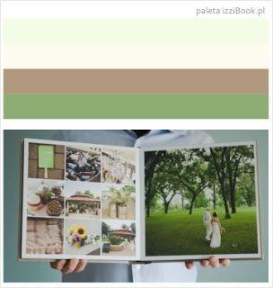 fotoksiążka ślubna przykład kolorystyki - inspiracje izziBook.pl  Fotoksiążka ślubna przykłady