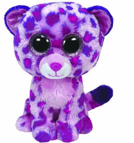 Ty Beanie Boos Glamour Leopard Plush, Pink, Medium TY Beanie Boos http://smile.amazon.com/dp/B00B2ZZQOW/ref=cm_sw_r_pi_dp_pThZtb18ZHWNDSEC