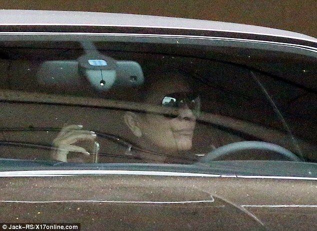 What a day: Kris Jenner was spotted leaving the gym in Beverly Hills on Monday - the same ...