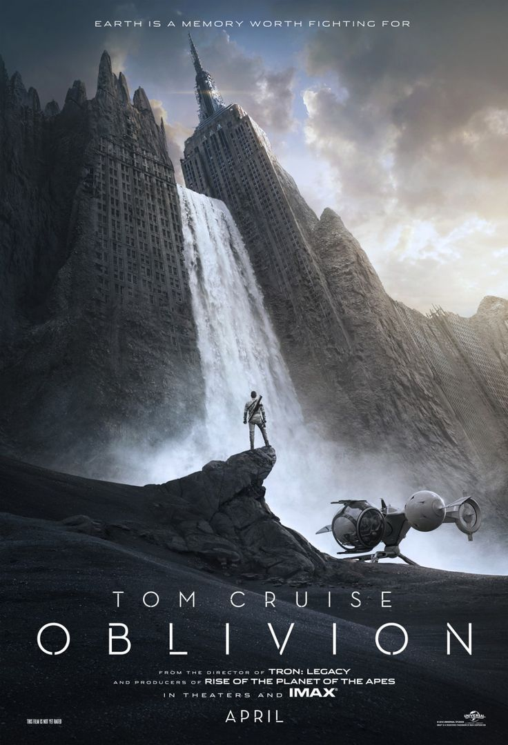 Even if it does have Tom Cruise in, I'm liking the look of #Oblivion...