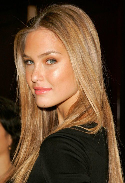 I know you're thinking how hard can it be to just pick a color. I love this honey blonde hair. And this girl is gorg!