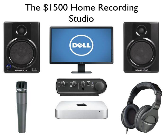 Phenomenal The 1500 Home Recording Studio Setup Ehomerecordingstudio Largest Home Design Picture Inspirations Pitcheantrous