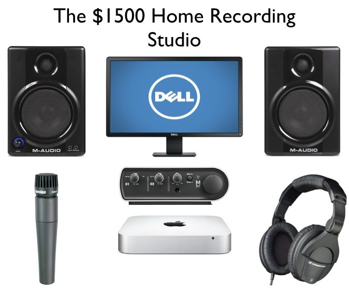 Superb The 1500 Home Recording Studio Setup Ehomerecordingstudio Largest Home Design Picture Inspirations Pitcheantrous