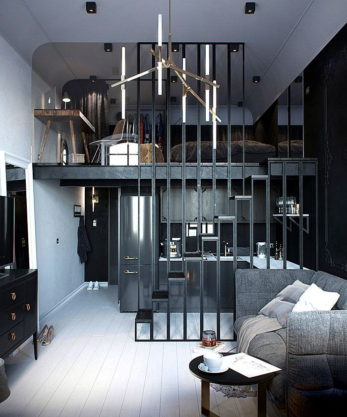 Wonderful 50 Small Studio Apartment Design Ideas (2019) U2013 Modern, Tiny U0026 Clever Pictures