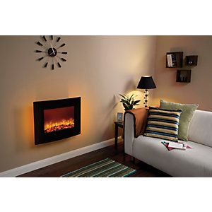 Amari Wall Hung Electric Fire   Wickes.co.uk