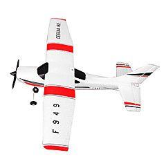 WLtoys+F949+3CH+2.4G+Cessna+182+Sky+King+2.4G+Radio+Control+Micro+RC+Airplane+RTF+Red/White+Drone++–+USD+$+99.99