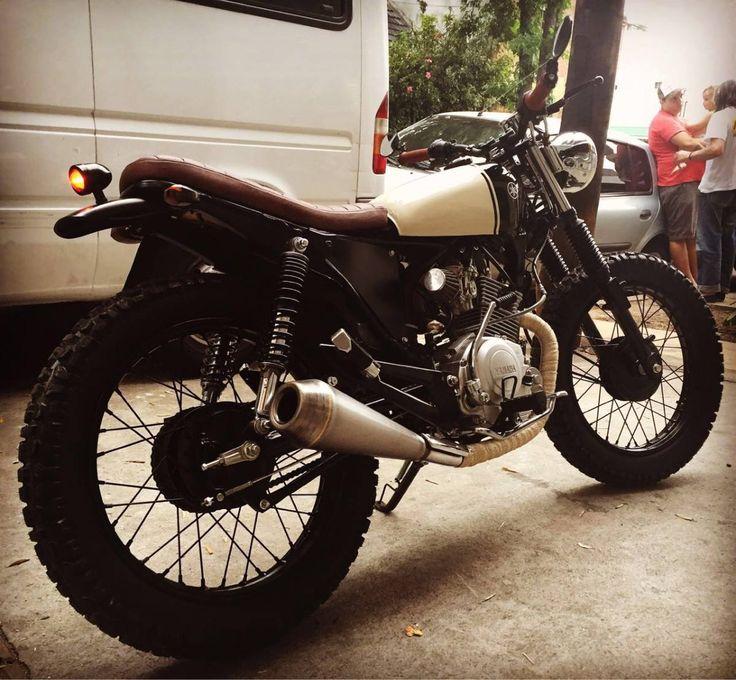 Yamaha Ybr Cafe Racer 125cc - Año De calle / Naked - 1000 km - en Mercado Libre