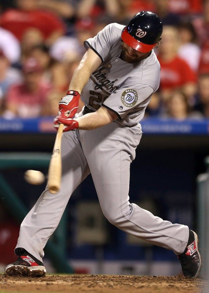 31. Daniel Murphy  -  Daniel Thomas Murphy is an American professional baseball second baseman for the Washington Nationals of Major League Baseball. He has previously played for the New York Mets.