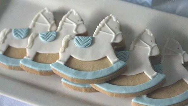 rocking horse cookies by Cakes and Biscuits by Lisa