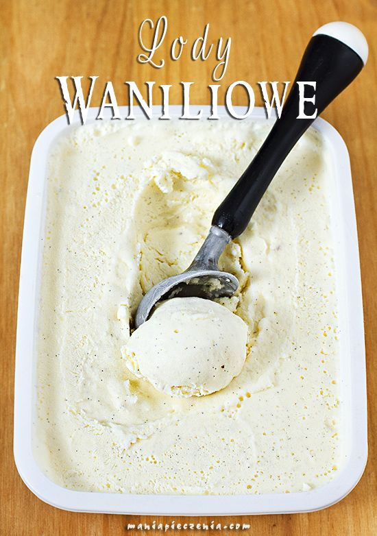 ekspresowe lody waniliowe, lody waniliowe bez maszyny, lody waniliowe bez jajek, lody waniliowe, domowe lody waniliowe, homemade vanilla ice cream, no churn vanilla ice cream, condensed milk vanilla ice cream, no eggs vanilla ice cream